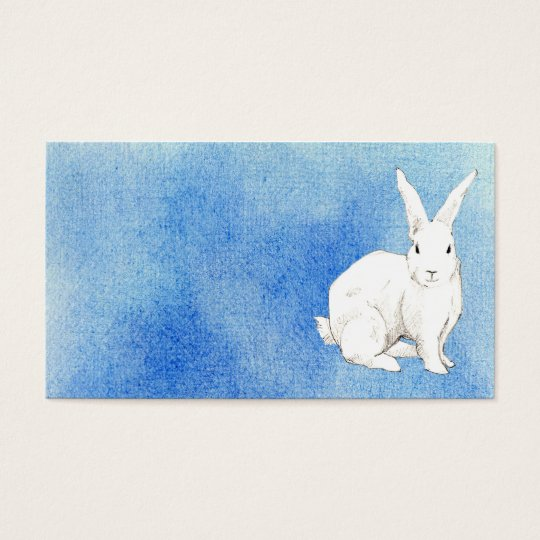 Rabbit Blue Profile Card