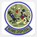 Rabbit Bomb Disposal Stickers