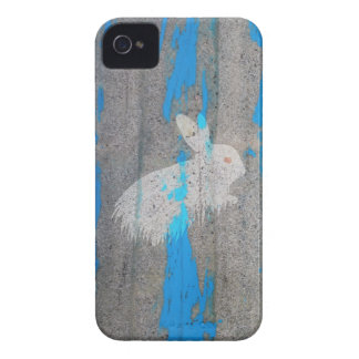 Rabbit bunny graffiti Case-Mate iPhone 4 case