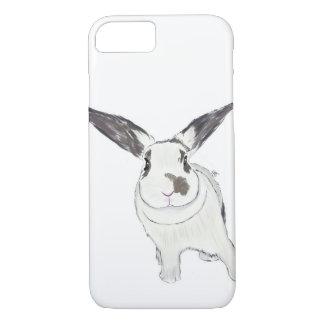 Rabbit Bunny Phone Case, Rabbit Illustration iPhone 7 Case