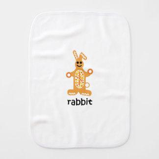Rabbit Burp Cloth
