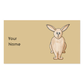 Rabbit. Business Card