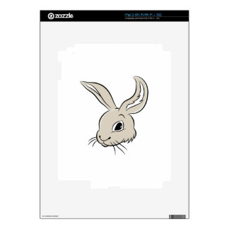 Rabbit Cartoon Character iPad 2 Skins