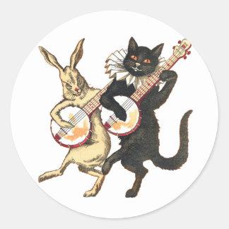 Rabbit & Cat Stickers