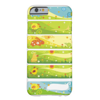 rabbit chicken cartoon characters barely there iPhone 6 case