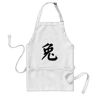 Rabbit Chinese Zodiac sign Adult Apron