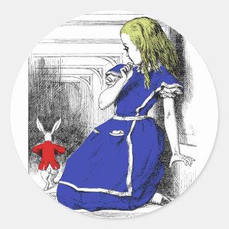 Rabbit Come Back Classic Round Sticker