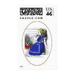 Rabbit Come Back Postage Stamp