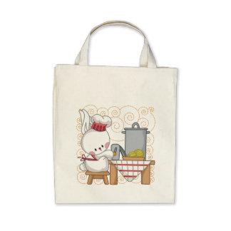 Rabbit Cook Canvas Bag