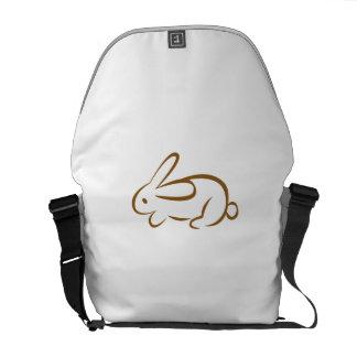 rabbit courier bag