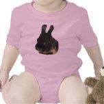 Rabbit Drawing Baby T Shirts