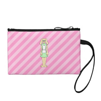 Rabbit Dressed as a Waitress. Coin Purses
