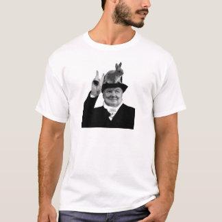 Rabbit Ears - Winston Churchill T-Shirt