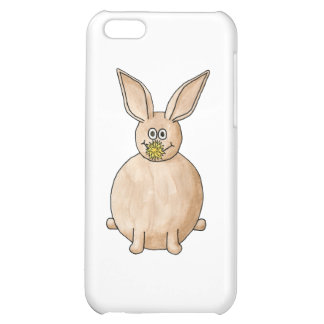 Rabbit Eating a Dandelion. Case For iPhone 5C