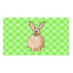 Rabbit eating a flower. business card templates