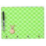 Rabbit eating a flower. Dry-Erase boards