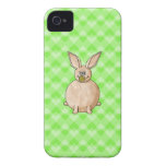 Rabbit eating a flower. iPhone 4 covers