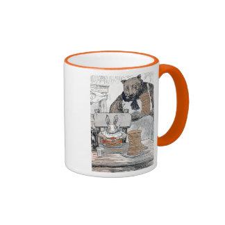 Rabbit Eating Pancake Breakfast Mug