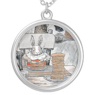 Rabbit Eating Pancake Breakfast Custom Jewelry