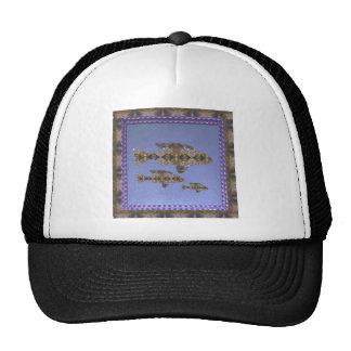 Rabbit Elephant Fish Snail Animal Art Fashion gift Trucker Hat