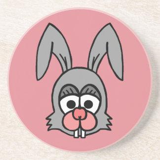 Rabbit Face Beverage Coaster