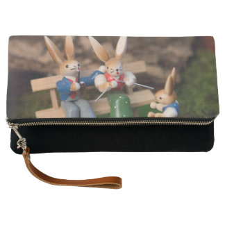 Rabbit Family Easter Clutch