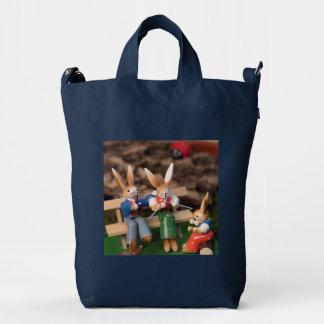 Rabbit Family Easter Duck Bag