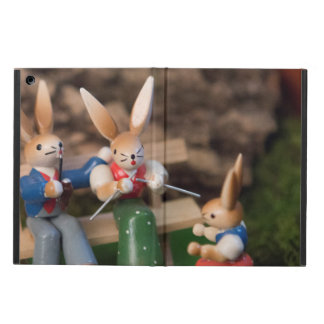 Rabbit Family Easter iPad Air Cover