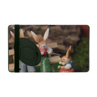 Rabbit Family Easter iPad Covers
