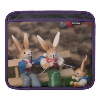 Rabbit Family Easter iPad Sleeve