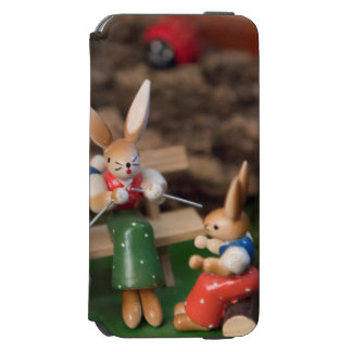 Rabbit Family Easter iPhone 6/6s Wallet Case