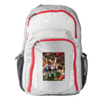 Rabbit Family Easter Nike Backpack