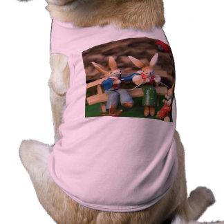 Rabbit Family Easter T-Shirt