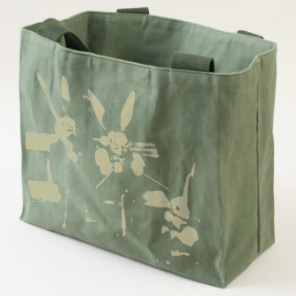 Rabbit Family Easter Tote