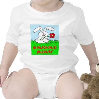 rabbit flower snuggle bunny t-shirt