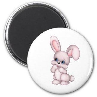 rabbit fridge magnet