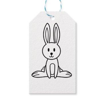 jasmineflynn Rabbit Gift Tags