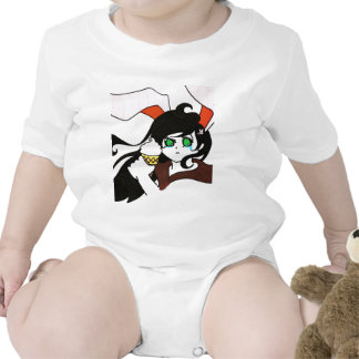 Rabbit girl with cone shirt