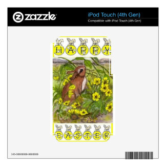 Rabbit - Happy Easter Skin For iPod Touch 4G