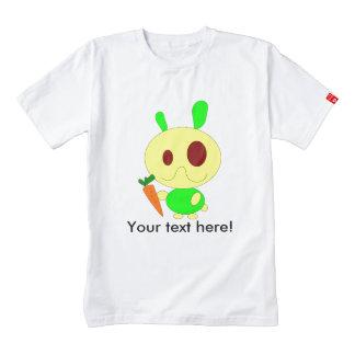 Rabbit holding a carrot cartoon zazzle HEART T-Shirt