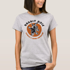 Rabbit Hole T-shirt at Zazzle
