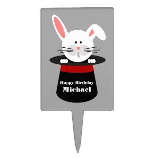 Rabbit In A Hat Birthday Cake Pick