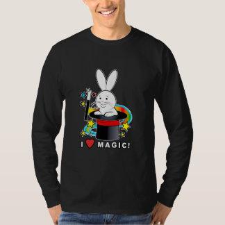 Rabbit in a Hat: I Love Magic! T-Shirt