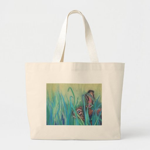 rabbit in grass bags