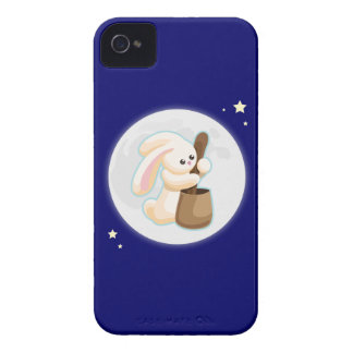 Rabbit in the Moon Case-Mate iPhone 4 Case