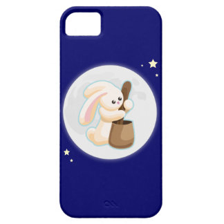 Rabbit in the Moon iPhone SE/5/5s Case