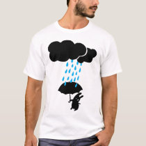Rabbit in the rain T-Shirt