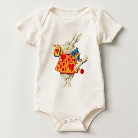 Rabbit in Wonderland - Infant Bodysuit Unisex