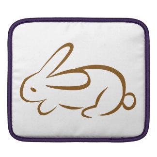 rabbit iPad sleeve
