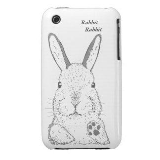 Rabbit, iPhone 3 Case-Mate Case